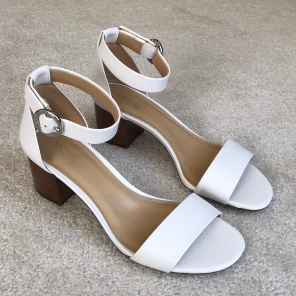 71573aeada6 Michael Kors Lena Block Heel Dress Sandals.
